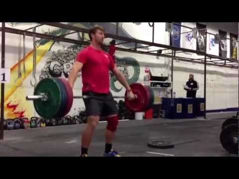 CrossFit - Spencer Hendel's 8 reps snatch at 225 pounds