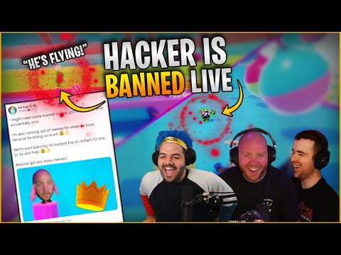 FALL GUYS HACKER BANNED LIVE! - TIMTHETATMAN, COURAGEJD, DRLUPO