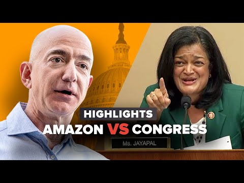 Everything Amazon CEO Jeff Bezos just said to Congress in 13 minutes
