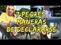 7 PEORES MANERAS DE DECLARARSE !! │ #brunoacme