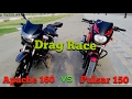 PULSAR 150 vs NEW APACHE RTR 160 || DRAG RACE || 2017