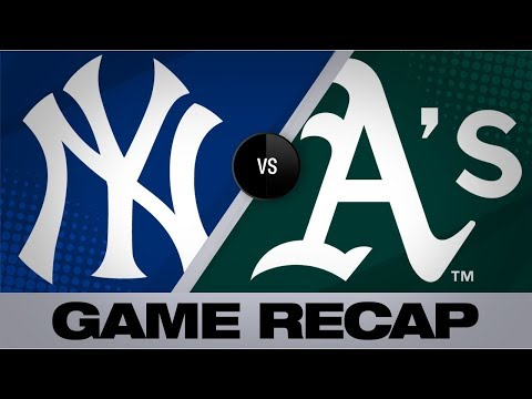 Video: Olson, Canha, Bailey pace A's in 6-2 victory | Yankees-A's Game Highlights 8/20/19