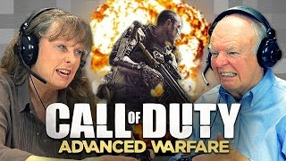 Watch What Happens When Old People Play Call Of Duty: Advanced Warfare
