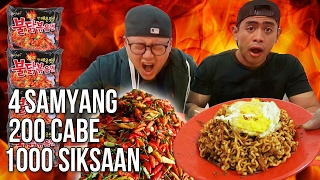 Video SADIS!! Samyang ABANG ADEK 200 Cabe Challenge ft Tanboy Kun MP3, 3GP, MP4, WEBM, AVI, FLV Maret 2018