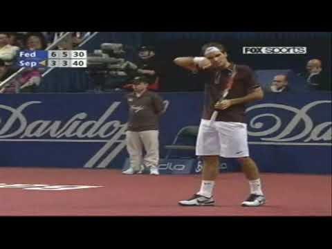 Andreas Seppi vs Roger Federer – Basel 2009