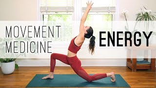 Video Movement Medicine - Energy Practice - Yoga With Adriene MP3, 3GP, MP4, WEBM, AVI, FLV Maret 2018
