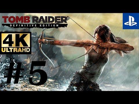 Tomb Raider: Definitive Edition Walkthrough Gameplay Part 5 - Captain Jessop (No Commentary)