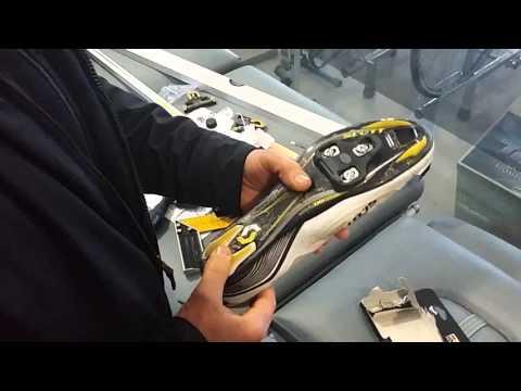 Posizionamento tacchette scarpa ciclismo