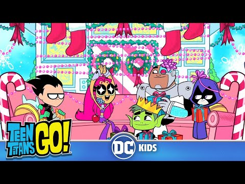 Teen Titans Go! | Christmas with the Titans | DC Kids