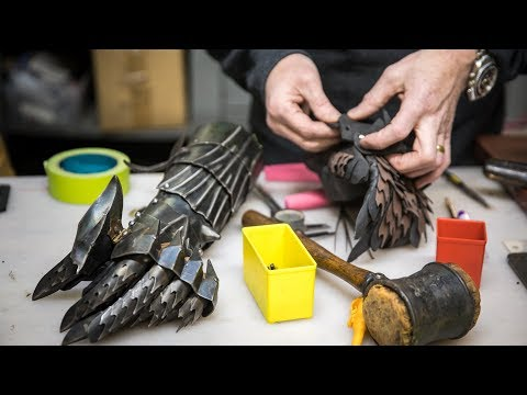 Adam Savage's One Day Builds: Foam Ringwraith Gauntlet! [35:32]