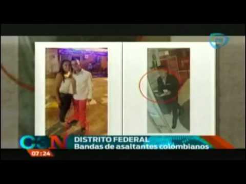 Autoridades capitalinas detienen a peligrosa banda de colombianos