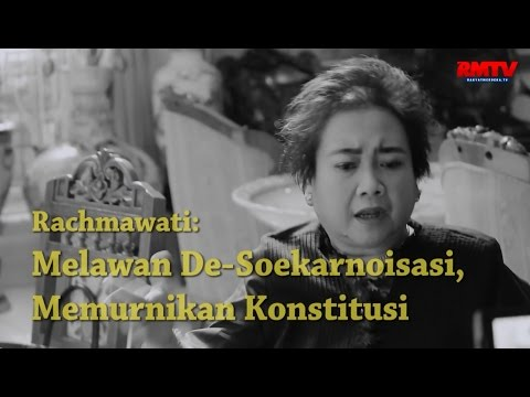 Rachmawati, Melawan De-Soekarnoisasi, Memurnikan Konstitusi