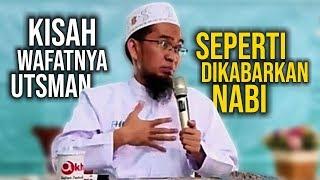 Video BIKIN NANGIS😭 Beginilah Kisah KEMATIAN Utsman Bin Affan - Ustadz Adi Hidayat LC MA MP3, 3GP, MP4, WEBM, AVI, FLV Januari 2019