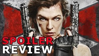 Nonton Resident Evil  The Final Chapter  2017  Review Spoilers Film Subtitle Indonesia Streaming Movie Download