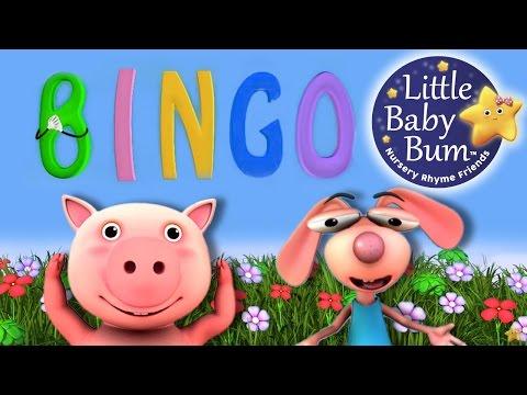 BINGO   Nursery Rhymes   from LittleBabyBum!   ABCs and 123s