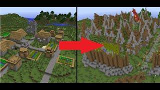 Minecraft Let's Build: Let's Transform a Village! - Episode 1