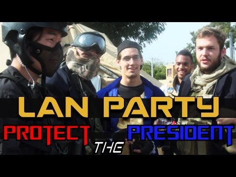 MAN Party: Protect the President Airsoft – NODE