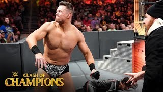 The Miz tosses Shinsuke Nakamura off the apron: Clash of Champions 2019 (WWE Network Exclusive)