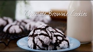How to Make Chocolate Brownie Cookies