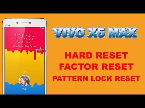 VIVO X5MAX HARD RESET | VIVO X5MAX PATTERN LOCK SOLUTION