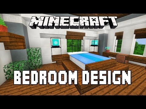 Minecraft Tutorial: How To Make A Modern Bedroom Design ...
