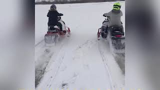 4. 2018 Yamaha Sidewinder 50th anniversary L TX LE snowmobile
