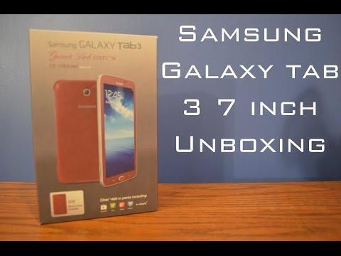 Samsung Galaxy Tab 3 7.0 inch Unboxing