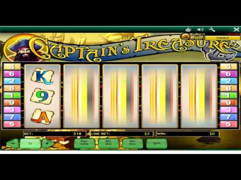 Captains Treasure Playtech