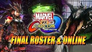 FINAL ROSTER - ONLINE DETAILS - FEMALE MONSTER HUNTER: MVCI Update/Thoughts w/Maximilian