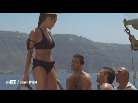 Angelina Jolie Water Boat Riding Scene | Lara Croft Tomb Raider: The Cradle Of Life (2003)