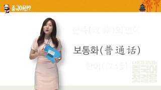 #1 [나혼자끝내는중국어첫걸음] 동영상강의 - 중국어 발음 특훈