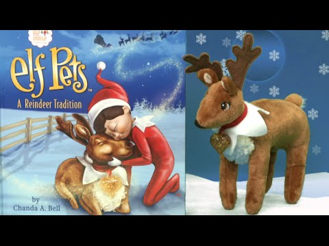 Elf on the Shelf Elf Pets Reindeer from CCA and B