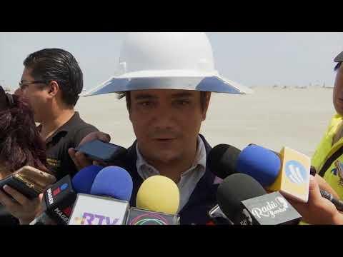 Avanzan trabajos del nuevo puerto de Veracruz, en agosto arribará un segundo buque