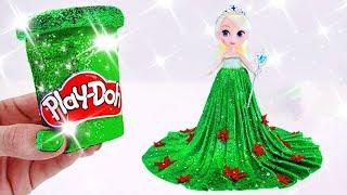Play Doh ELSA Princess Dress ❄️ Disney FROZEN FEVER Inspired Costume