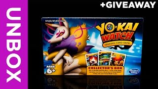 ZeronXepher unboxes the Yo-Kai Watch Trading Card Game Collector's Box featuring Kyubi. This set comes with 4 booster packs,...