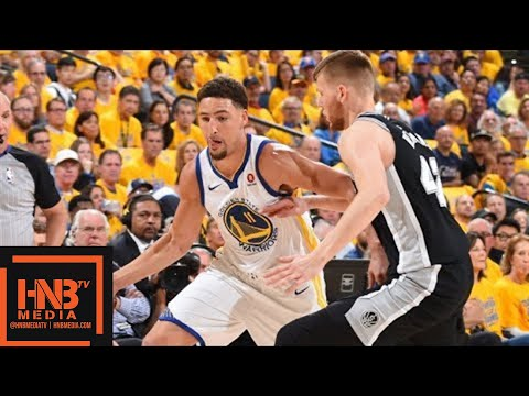 Golden State Warriors vs San Antonio Spurs Full Game Highlights / Game 1 / 2018 NBA Playoffs (видео)