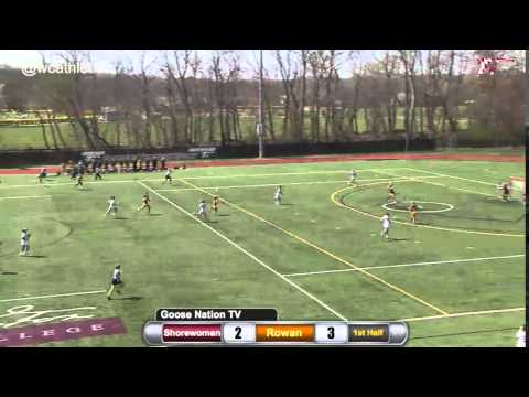 Shorewomen Lacrosse: Transition Goal v. Rowan