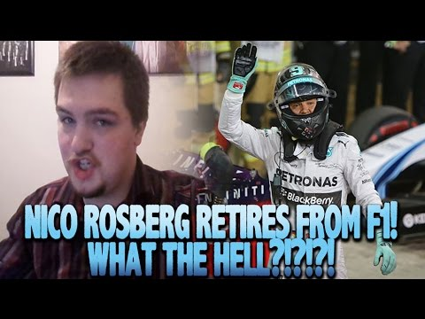 NICO ROSBERG HAS RETIRED FROM F1 REACTION  - WHAT THE FUCK IS GOING ON?