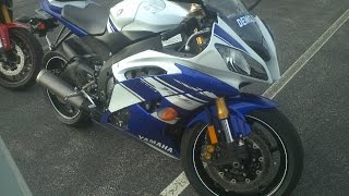 7. 2014 Yamaha R6 Demo Ride