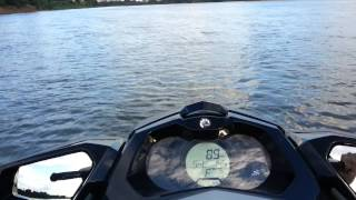 10. Jet ski Sea-Doo GTI 130 - Top Speed
