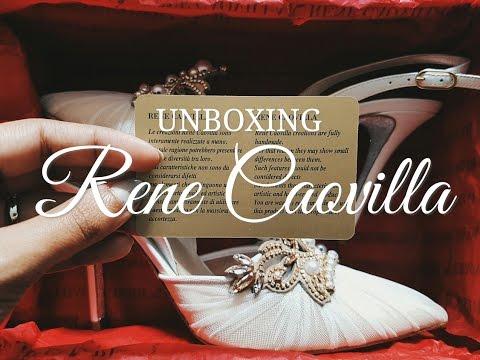 Unboxing Rene Caovilla (Wedding Shoes)   Love Bella Vida