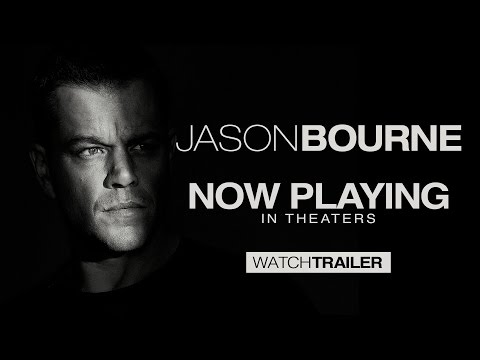 JASON BOURNE IS BACK! (OFFICIAL TRAILER)