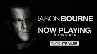 Jason Bourne - Official Trailer (HD) - YouTube