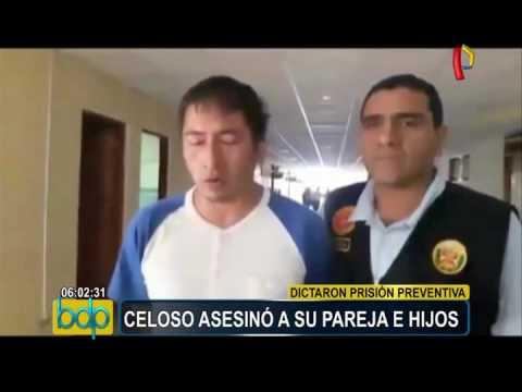 Chiclayo: dictan 9 meses de prisión preventiva para sujeto que asesinó a esposa e hijos