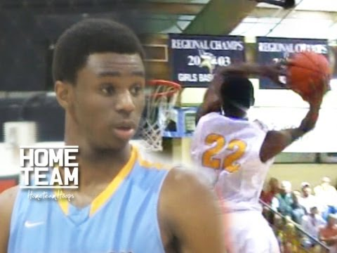 Andrew - 6'7 Andrew Wiggins (Huntington Prep), The number one player in high school basketball is Kansas bound. Rock Chalk Jayhawk.