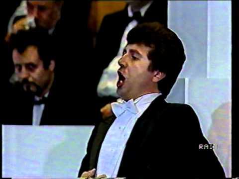 """Tenore JERRY HADLEY  - La Bohème  """"Che gelida manina"""" - (Video Live)"""