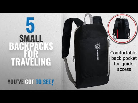 Small Backpacks For Traveling [2018 Best Sellers]: Small Backpack 10L Hiking Daypack Mini Bookbags