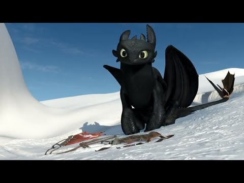 Gift Of The Night Fury - All Toothless Scenes