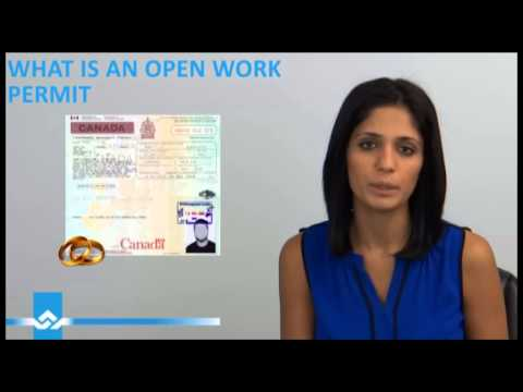 What is an Open Work Permit Video