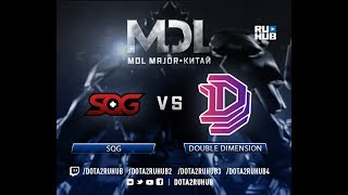 SQG vs Double Dimension, MDL EU, game 2 [Lum1Sit, Mortalles]